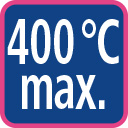 400 degree celsius max