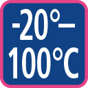 minus 20 to 100 degree celsius