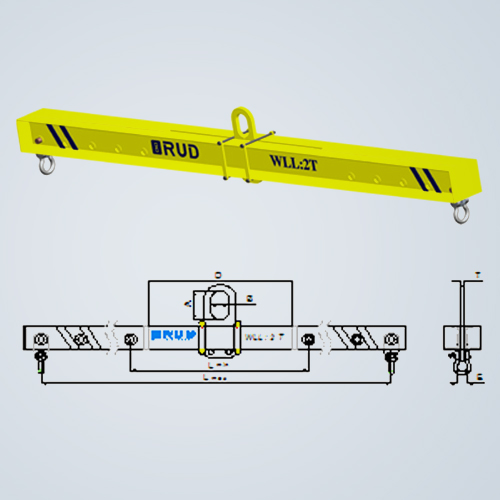 Spreader Beam with moveable bail