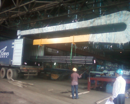 Container Loading Beam